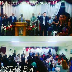 #eliasba #musicagospel #adoracao #musica #evangelico boa noite povo abençoado na paz do senhor Jesus Cristo, hoje foi assim AD setor 14. .