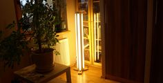Lampa ze świetlówek