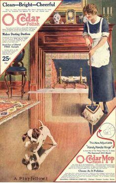 O-Cedar, Polish Dusting Products, USA (1910)