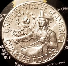 1976 Bicentennial Quarter Smashed Drum Error? - Coin Community Forum Canadian Coins, Coin Worth, Error Coins, Mint Coins, Coin Grading, Interesting Information, Us Coins, Event Calendar, Coin Collecting