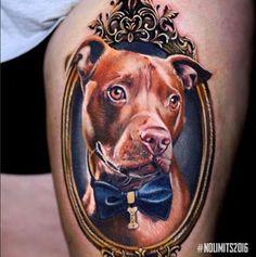 New Tattoo Dog Pitbull Sweets 24 Ideas Tattoo Pitbull, Bull Tattoos, Animal Tattoos, Body Art Tattoos, Wife Tattoos, Chihuahua Tattoo, Pisces Tattoos, Female Tattoos, Neck Tattoos