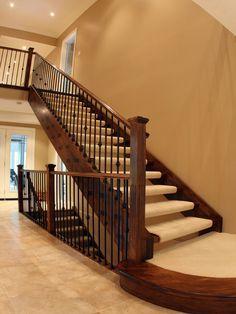 stair railings indoor - Google Search