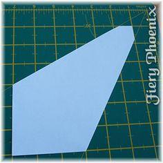 Fiery Phoenix - Valentine Fabric Origami Candle Mat
