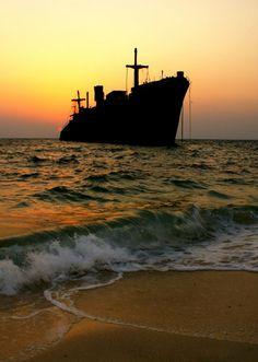 Greek Ship In Kish Island, Persian Gulf - Iran