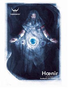 Æsir: Hœnir: God of Silence and Óðr