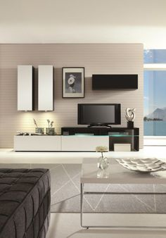 Amsterdam Combination-11200 Modern Wall Unit by Creative Furniture