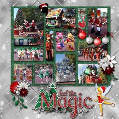Once Upon A Christmastime Parade - Page 2 - MouseScrappers.com