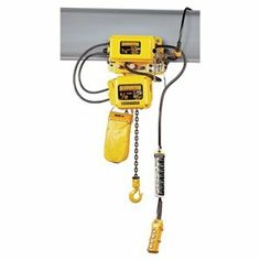 1 Ton 1 Ph Hoist Trolley, 10ft Lift by Harrington. $6577.21. Electric Chain HoistsH4-rated Die-cast aluminum Friction clutch Oil bath lubrication Include chain containerSNERM Electric Chain Hoists with Motorized TrolleyDesigned with easy access control panel, and cast-iron guide for smooth operation. Motorized trolley has drop stops and rubber bumpers. Includes 4 ball bearing-supported rollers. Reliable pull rotor motor brake Grade 80 nickel-plated load chain Include drop stops,...