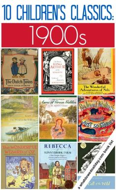 Are these classic books from 1900-09 on your family to-read this? (If you haven't read them, you can find links to free online editions and ebooks on this link)