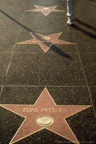 Elvis Presley star, Walk of Fame, Hollywood, CA#elvis