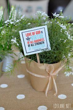 LDS Lane: June 2015 Visiting Teaching Message - Virtue