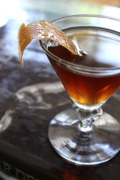 Perfect Fall Cocktail: Classic Rob Roy Recipe #Drinks #alcohol