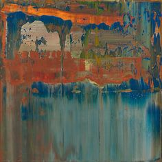 ♒ Art in the Abstract ♒  modern painting - Gerhard Richter, Abstract Painting (2008)