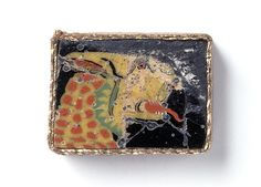 Romano-Egyptian Mosaic Glass Inlay Depicting a Leopard in Profile | par Ancient Art