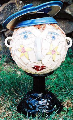 mosaic lady