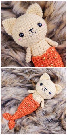 Crochet Cross, Cute Crochet, Knit Crochet, Crochet Patterns Amigurumi, Crochet Dolls, Knitting Patterns, Crochet Disney, Crochet Mermaid, Crochet Gifts