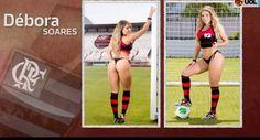 Galdino Saquarema Esporte: Belas da Torcida - As finalistas do Flamengo