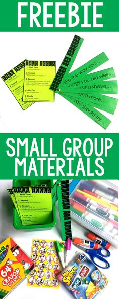 Setting up your small group materials Small Group Organization, Classroom Organization, Kindergarten Math, Elementary Math, Preschool, Special Education Math, Guided Math, Guided Reading, Teacher Resources