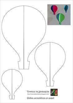 The extraordinary Hot Air Balloon Drawing Template At Paintingvalley For Hot Air Balloon Template Printable digital photography below, is section … Mothers Day Crafts For Kids, Diy For Kids, Decoration Creche, Decoration Crafts, Balloon Template, Balloon Crafts, Drawing Templates, Baby Shower, Mom Birthday Gift