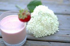 Creamy Strawberries 'N Cream Smoothie, Wholeliving.com