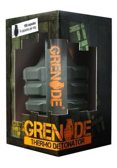 Weight  Loss Supplements - Tub of 100 Capsules #Grenade