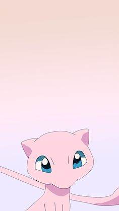 Fondo de pantalla | Mew | Pokémon Pokemon Mew, Mew Y Mewtwo, Pokemon Party, Nintendo Pokemon, Cute Pokemon Wallpaper, Kawaii Wallpaper, Wallpaper S, Wallpapers Naruto, Animes Wallpapers