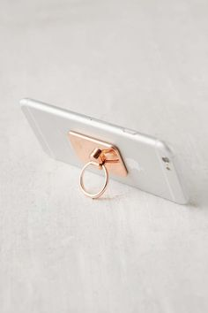 Rose Gold Ring Stand ($8)