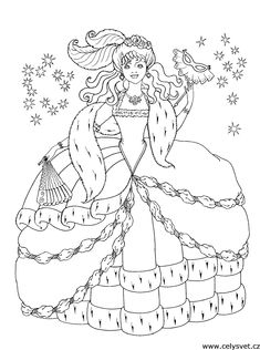 Omalovánka: Pro dívky: Princezny