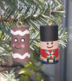 Etsy :: Your place to buy and sell all things handmade Christmas Crafts For Kids, Christmas Tree Ornaments, Holiday Crafts, Christmas Diy, Wine Cork Projects, Wine Cork Crafts, Wine Cork Ornaments, Handmade Ornaments, Spooky Halloween