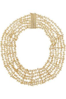 Rosantica Fata gold-tone pearl necklace | NET-A-PORTER