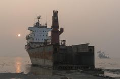 BD-133 Ship Breaking Yard, Chittagong | Flickr - Photo Sharing! - Photo by FO Travel on Flickr.