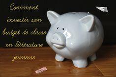 Investir le budget de classe en littérature jeunesse ! #enseignement #education http://lesptitsmotsdits.com/budget-classe-litterature/