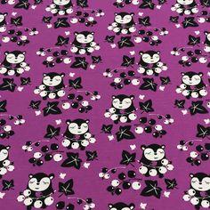 PaaPii Design - Myyryn herukat luomujersey, violetti