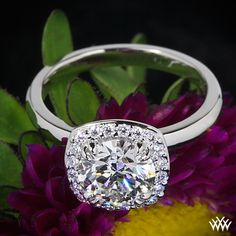 """1.30ct A CUT ABOVE Diamond set in """"Guinevere"""" Solitaire Engagement Ring"""