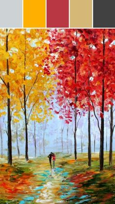 Image result for autumn color palette