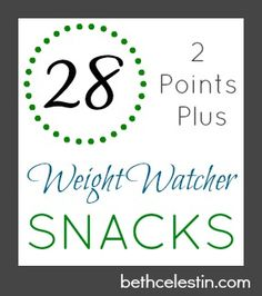 Weight Watcher Snacks 2 Points Plus