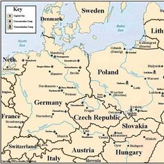 Blank map of europe after world war ii here are the topic 2 holocaust map of eastern europe indicating locations of major nazi concentration and death camps gumiabroncs Gallery