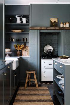 Kitchen Mixer, Kitchen Nook, Kitchen Ideas, Rustic Kitchen, Kitchen Design, Orient House, Recycled Brick, Custom Vanity, Dining Nook