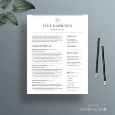 professional resume template cover letter for word