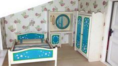 Lundby Schlafzimmer ..blue Heaven  Vintage von minis4you auf Etsy