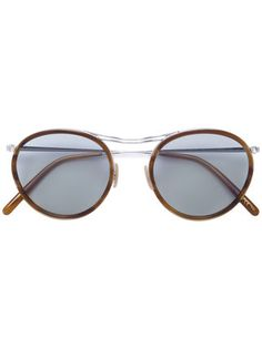 23b83ece040 Oliver Peoples MP-3 Round Frame Sunglasses - Farfetch