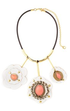 Marni Angel Skin Puzzle Piece Necklace -Moda Operandi