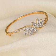 Two Tone Sterling Silver Rose Cut Bracelet Promo – Modern Jewelry Diamond Bracelets, Gold Bangles, Jewelry Bracelets, Diamond Jewellery, Men's Jewellery, Designer Jewellery, Silver Bracelets, Fashion Jewellery, Vintage Jewellery