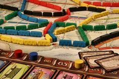 The Married Gamers take a look at Ticket to Ride.