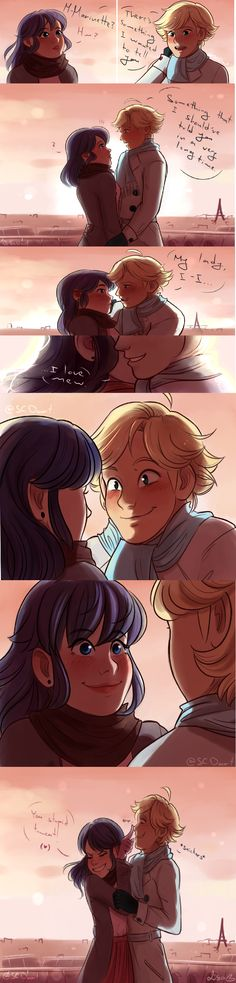 Way to ruin the moment Adrien!