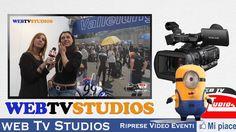 """WEB TV STUDIOS - VIDEO PROFESSIONALE per la realizzazione di riprese video per il tuo evento, che sia un evento aziendale, una convention, una manifestazione, un evento sportivo, sfilata di moda, concerto, spettacolo teatrale o di danza. compleanno cerimonia religiosa, Il servizio comprende: riprese con una telecamera professionale , montaggio video, post produzione, masterizzazione su DVD.   PER I TUOI EVENTI """"  WEB TV STUDIOS """" RIPRESE VIDEO PROFESSIONALI…"""
