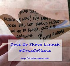 Dove Go Shave Launch #DoveGoShave | Dear Kitty Kittie Kath- Beauty, Fashion, Lifestyle, and Mommy Blog