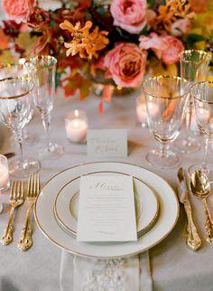 Elegant Fall Wedding Colors II | November 14th, 2012 | http://www.oncewed.com/65928/wedding-blog/elegant-fall-wedding-colors-ii/