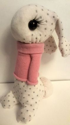 Bunny Out of Socks
