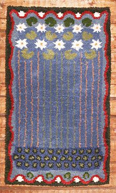 Lumpeen kukat, Eemil Halonen, For some day when I have time to make a… Textile Tapestry, Art Textile, Textile Patterns, Tapestries, Quilt Patterns, Rya Rug, Wool Rug, Scandinavian Embroidery, Floor Cloth
